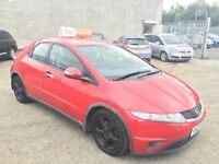 Honda Civic 2.2 i CTDi Sport 5dr / Diesel / Only 1 Owner Since New / 3 Month Warranty