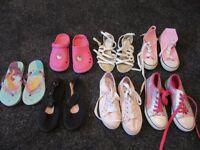 Bundle of size 13 girls shoes