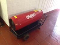 Draper diesel space heater