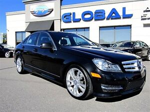 2013 Mercedes-Benz C-Class C 350 4MATIC AMG STYLING PKG. LOW KM.