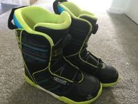 Kids Size 5 K2 snowboard boots