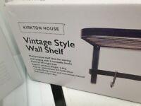 New Vintage Style Wall Shelf