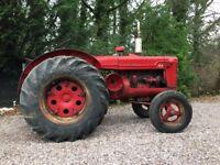 1952 McCormick-Deering W-4. Vintage Tractor