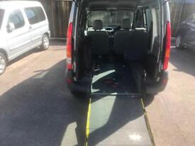 Renault kangoo wheelchair accessible ramp disabled mobility