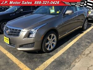 2014 Cadillac ATS Luxury, Automatic, Leather, Sunroof, AWD, Only
