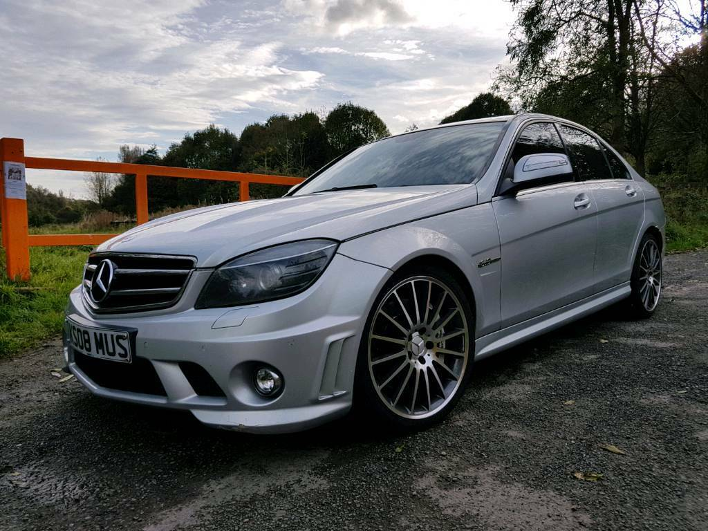 MERCEDES-BENZ C63 AMG AUTO HPI CLEAR DE-CAT RE-MAPPED ABSOLUTE ANIMAL