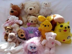 Less than £1 each. Large bundle of soft toys