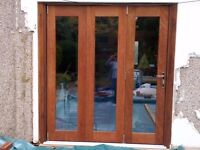 Hard wood Bi-Fold doors good condition - currently under offer