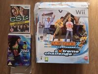 Wii extreme challenge mat + CSI game