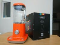 ORANGE Kenwood kMix BLX50 Blender 800W - 1.6 litre Mint Condition Boxed with all Docs