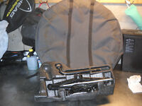 VOLVO SPARE WHEEL AND JACK PLUS WHEEL COVER