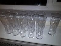 11 J20 DRINKING GLASSES