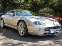 2005 JAGUAR XK8 4.2 300BHP SILVER WITH BLACK INTERIOR CLASSIC DIALS LONG MOT