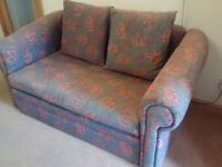"Free sofabed. Sleeping area 78""x47"" solid wooden frame. No longer needed. Come and take it away 👍👍"