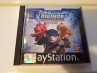 Digimon World 2003 PS1 / Playstation 1 Game - PAL - boxed with manual - Rare