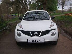 Nissan Juke 1.5 DCI VISIA (white) 2011 GOOD SPEC 12 MONTHS MOT CALL NOW ON 0116 2149247