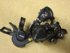 Shimano Zee Shadow+ 10 Speed Rear Mech with Shifter