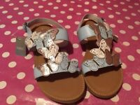 Next older girl's size 2 Sandals BNWT