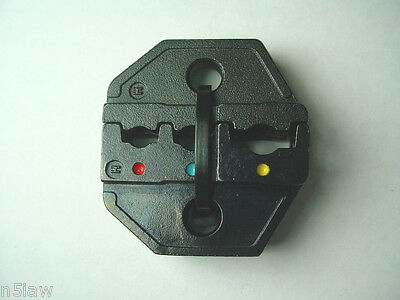 Crimp Tool Die Set For Red Blue Yellow Electrical Terminals