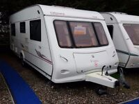 2006 Elddis Odyssey 534 4 Berth Fixed Bed Lightweight Caravan with SOLAR PANEL and MOTOR MOVER