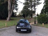 2004 BMW 320I 2.2 SE 2 DOOR COUPE BLACK**LONG MOT READY TO DRIVE AWAY**