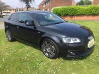 Audi A3 tdi sline black edition 2010
