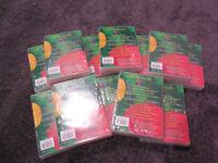 Brand New Sealed 60 DVD storage Cases