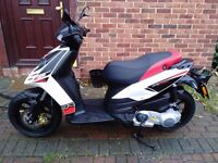 2016 Aprilia SR MOTARD 125 scooter, bargain, just 1500 miles from new, great runner, made by piaggio