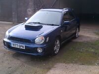 2001 - Subaru Impreza - WRX - 5 door estate - 2.0T - Blue