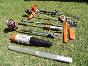 STIHL KM-130R KOMBI + POLESAW,HEDGER,BLOWER,BRUSHCUTTER & MORE Parkwood Gold Coast City Preview
