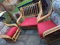 FREE Wicker conservatory furniture