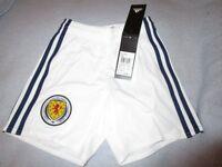 Boys 5/6 Scotland Football Shorts - Brand New