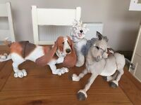 a breed apart figurines - £10 for sale  Hampshire