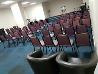 Hall Hire / Wedding Reception/ Parties / Church Services 07801334762