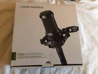 Audio Technica AT2035 Condenser Microphone + Extras - IN BOX, PERFECT CONDITION