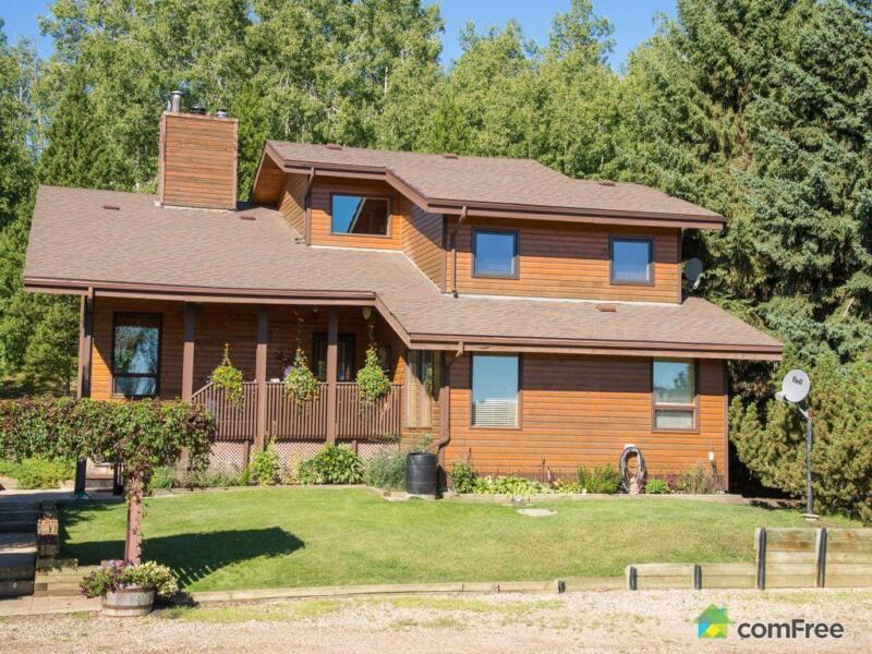 499 900 acreage hobby farm ranch in athabasca