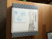 Baby hand/foot print canvas kit