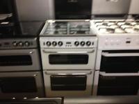 Newworld silver 60cm gas cooker