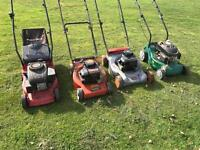 Petrol mower parts available