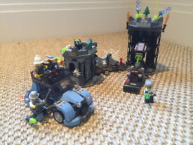 LEGO Monsterfighters 9466 Cracy Scientist - complete set with original box & instructions