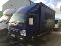 MITSUBISHI CANTER FUSO 2010REG, 112000MILES, 7.5T CURTINSIDER FOR SALE