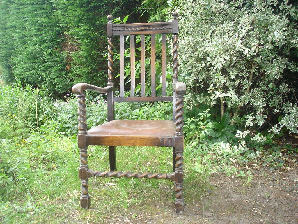 Farmhouse Style Chair Great Shabby Chic Project In