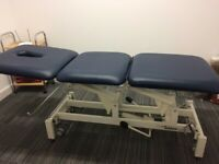message bed , massage table ,treatment bed, clinic check up bed. Hydraulic elevation.
