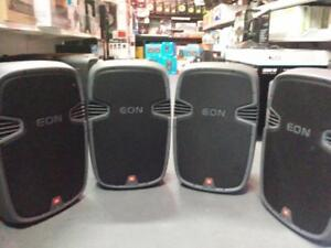JBL EON 315 Speakers *USED* - 4 Available* Excellent condition Great price!!!315