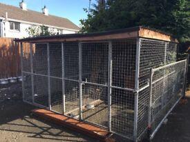 Dog cage/run 10 panels 6x6