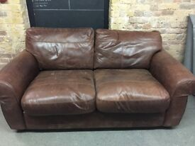 Used Brown Sofa
