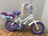 Girls 12 in bike - Raleigh songbird