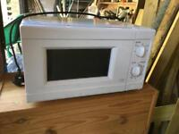 Microwave in perfect working order. Will deliver locally