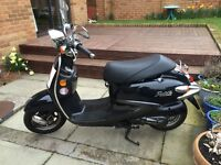 SYM FIDDLE 50 RETRO SCOOTER FOR SALE