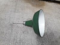 Antique Light Shade Lamp enamel Large Ceiling Maxlume Industrial Rossland vintage lighting
